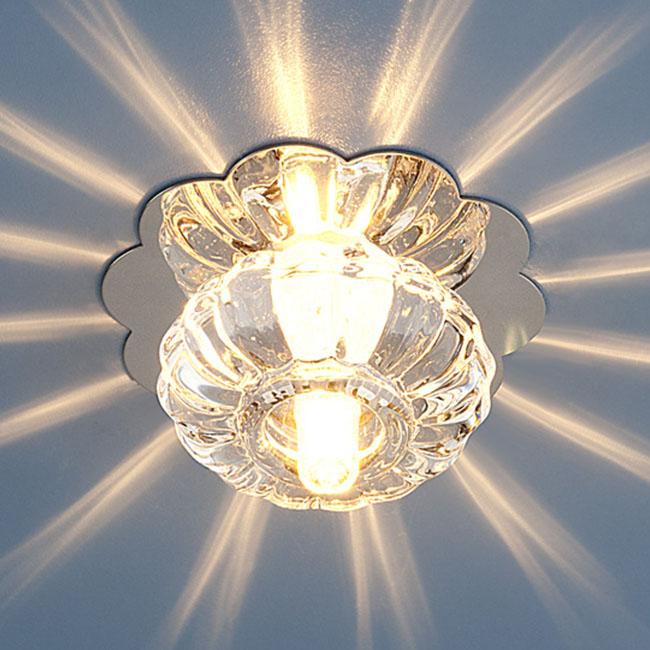 Светильник точечный SD847 G4 хром/белый