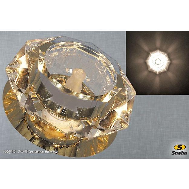 Точечный светильник 005/DL G9 золото