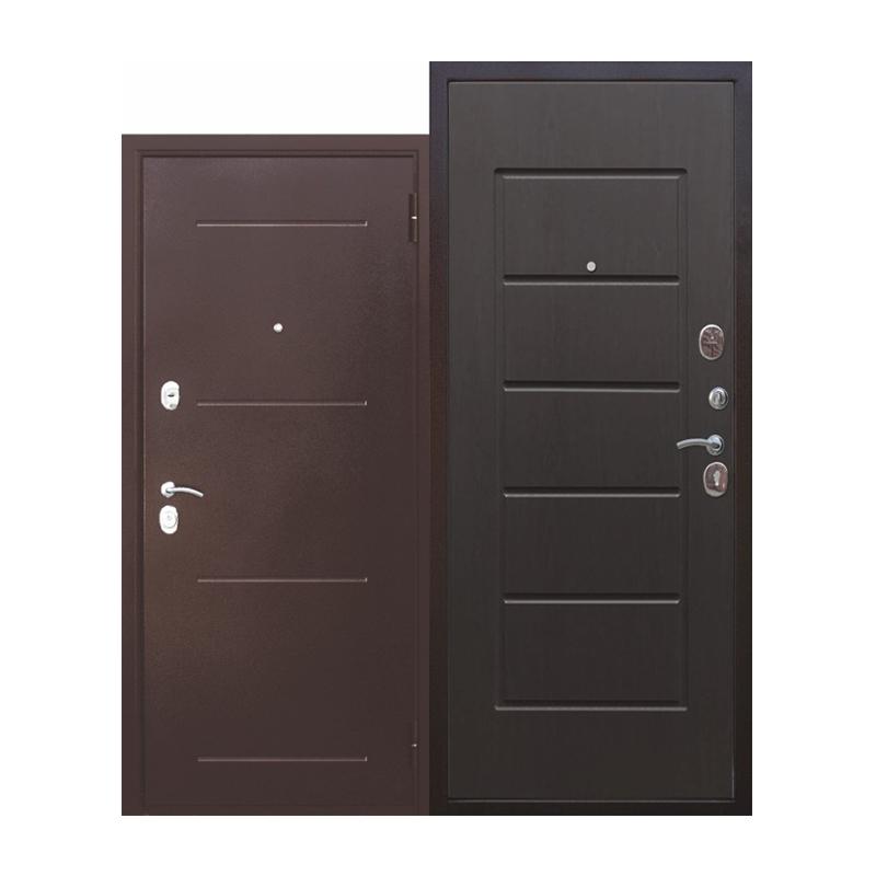 Металлическая дверь Ferroni Гарда 7,5, внутр-МДФ 10мм венге