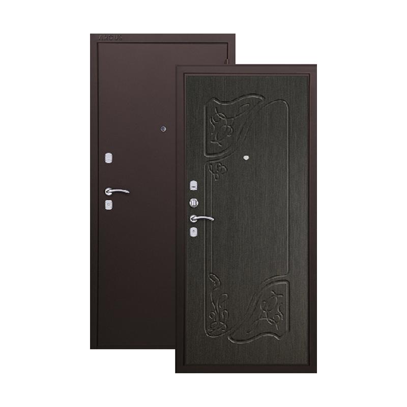 Металлическая дверь Аргус Веста ЦГ-70 Венге Стр.Кофе